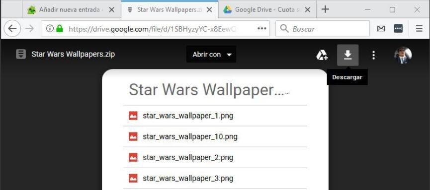 fondos de pantalla StarWars OnePlus 5T