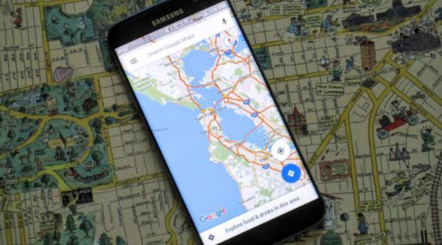 recorridos Google Maps android