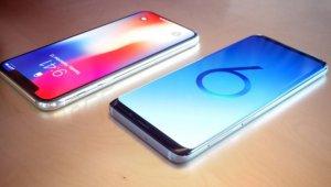 Samsung Galaxy S9 versus iPhone x