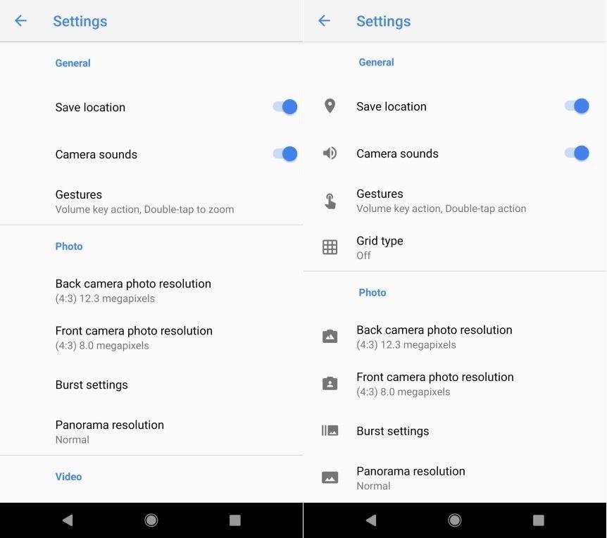 Google Camara 5.2 Pixel 2
