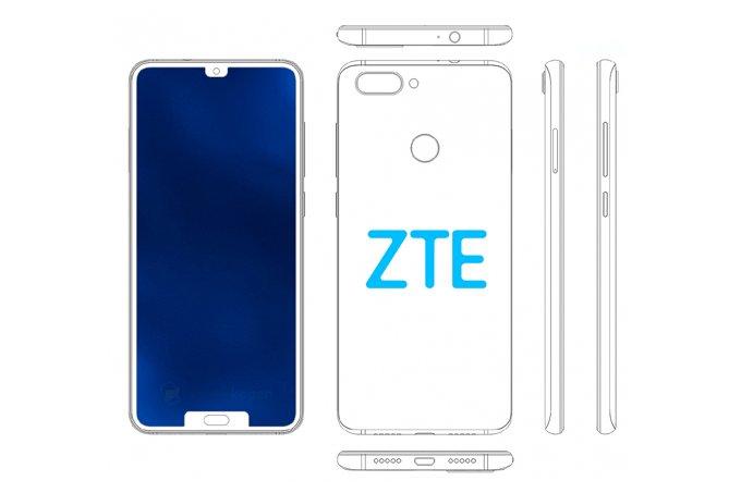 Patente ZTE doble muesca