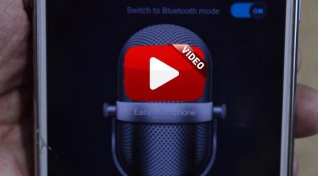 convertir un smartphone Android en microfono tradicional