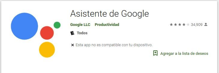 Asistente de Google con 6 voces disponibles