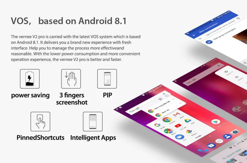 Vernee V2 Pro Oreo Android 8.1