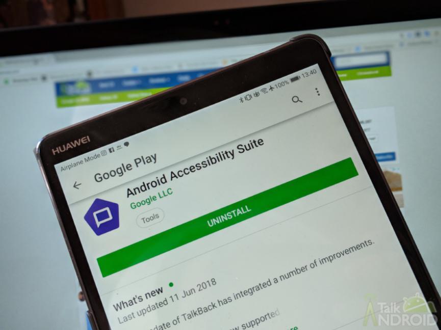 Android Accessibility Suite es el nuevo nombre de TalkBack y exiten mejoras