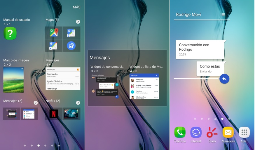 Mensajes Android de Google