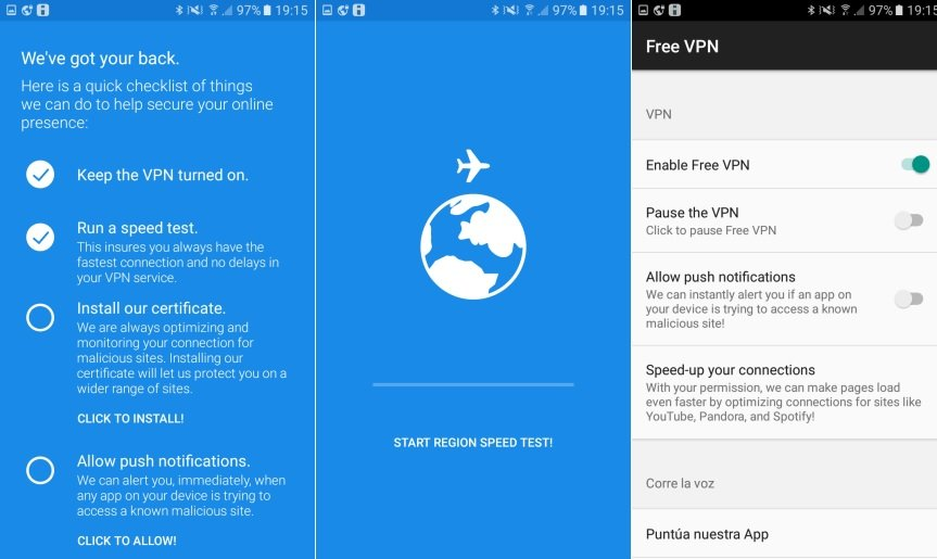 VPN Android Gratis