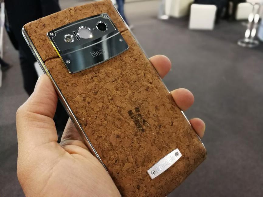SmartPhone Android de Corcho