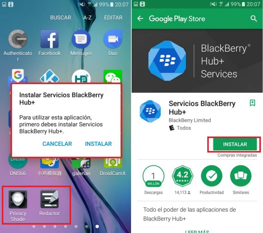 descargar BlackBerry Redactor gratis