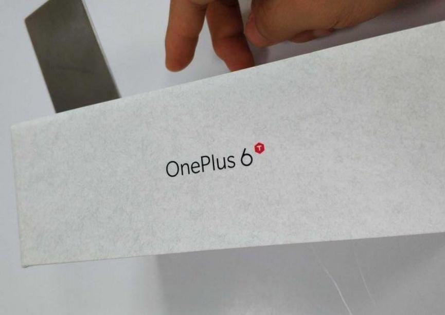 Caja del OnePlus 6T