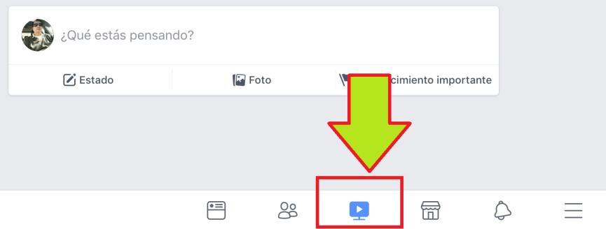 Facebook Watch en iPad