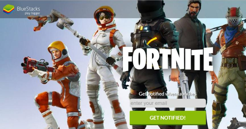 Fortnite Android requisitos bluestacks
