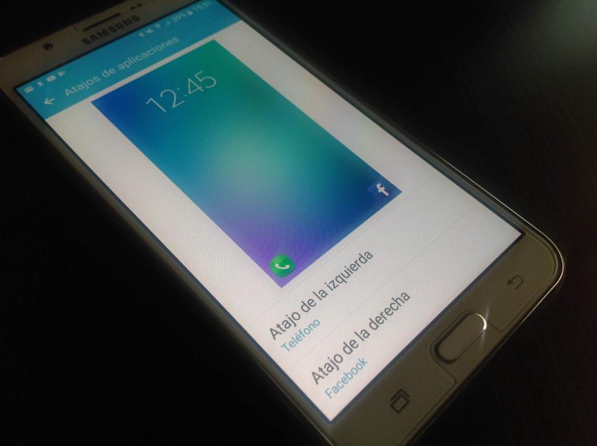 cambiar accesos directos pantalla de Bloqueo Android