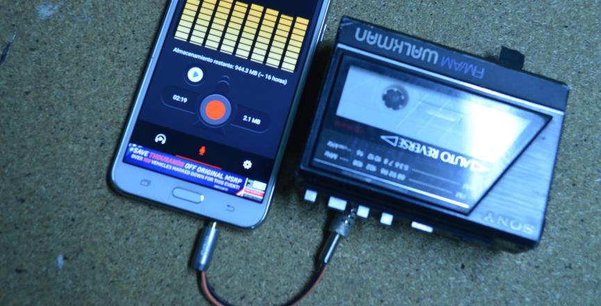 Grabadora de Voz en Android: Cómo usarla con Cassetes viejos de Audio