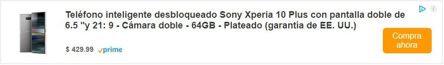 Sony Xperia 10 verizon