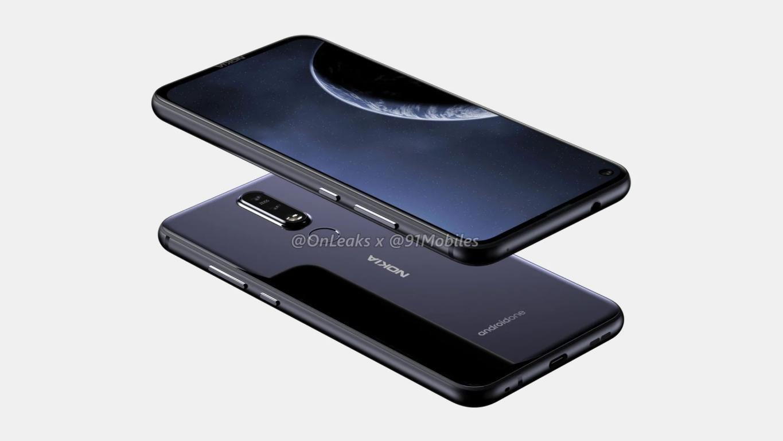 Nokia X71 Tendría un agujero para la cámara frontal y otra de 48 Mpx