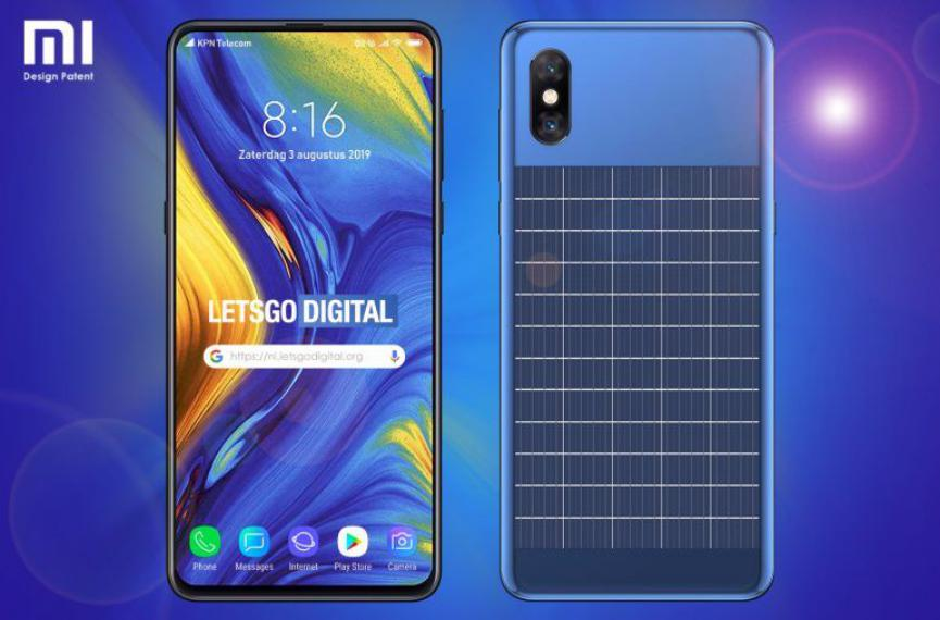 SmartPhone Xiaomi con Panel Solar: Patente muestra Interesantes Funciones