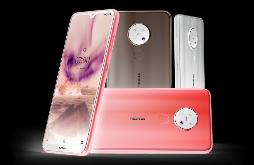 Nokia 7.2: ¿Cuál de éstas 3 Variantes te gustaría llevarte a casa?