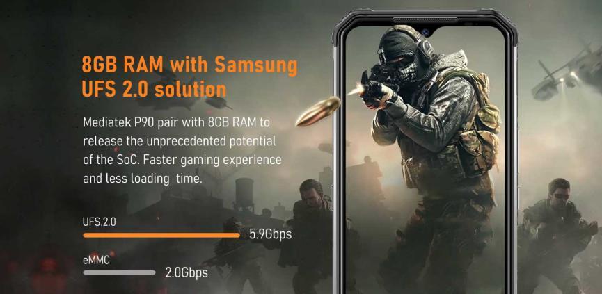DOOGEE S95 Pro: 5 Cosas que Otros SmartPhones Android no Tienen