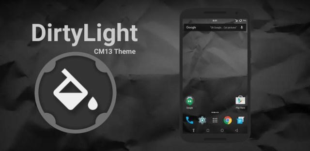 DirtyLight CM13 Theme