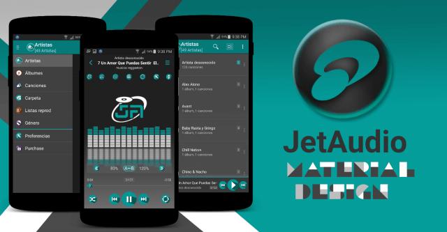 JetAudio Material Design