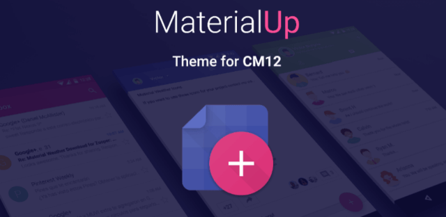 MaterialUP CM12 Theme