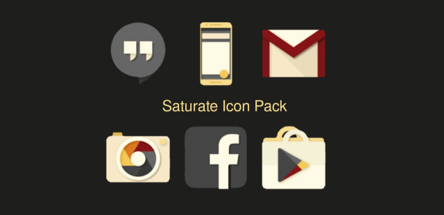 Saturate Icon Pack