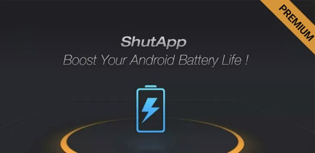 ShutApp Premium - Real Battery Saver