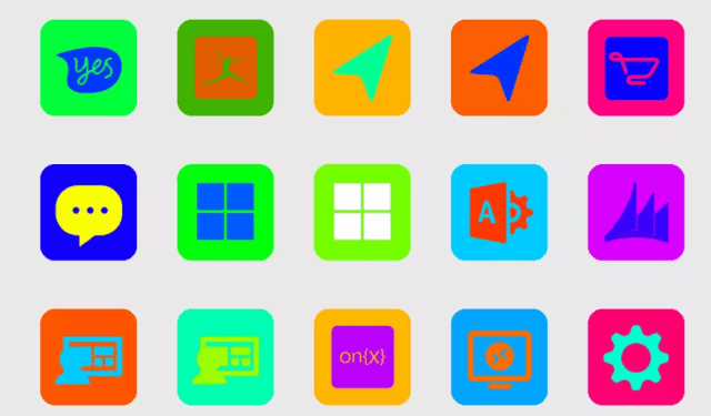 Color Madness UI - Icon Pack