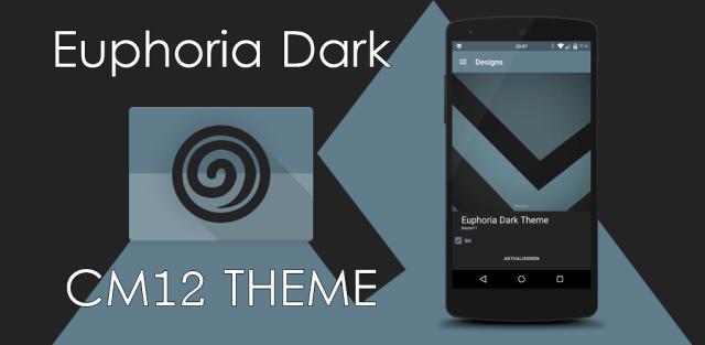 Euphoria DarkCM13 Theme