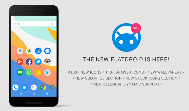 FlatDroid Icon Pack