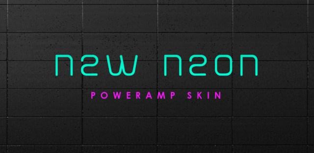 PowerAmp Skin New Neon