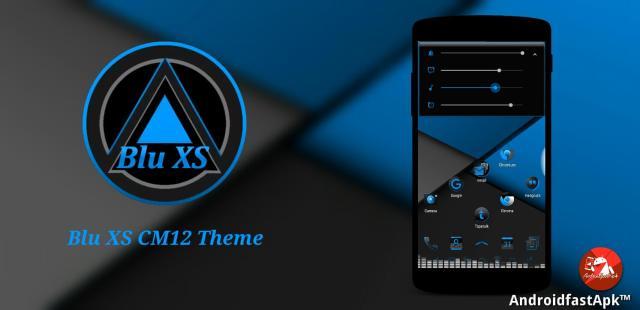 Blue XS Cm12 Theme