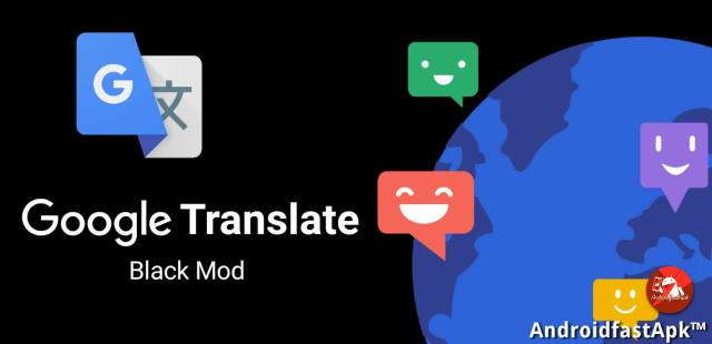 Google Translate Black Mod