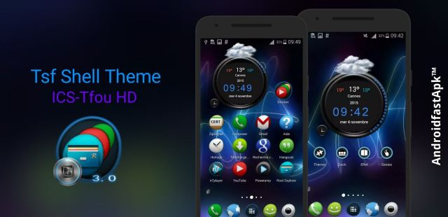 Tsf Shell Theme ICS-Tfou HD