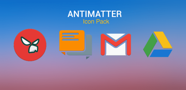 ANTIMATTER icon pack