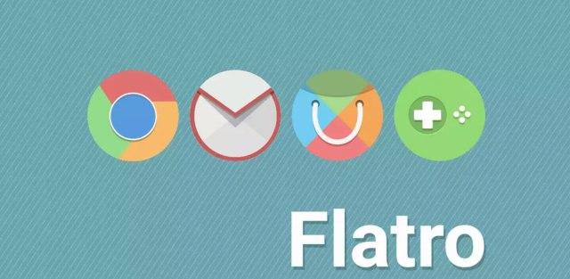 Flatro icon pack
