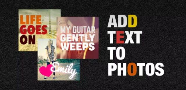 Phonto Text on Photos