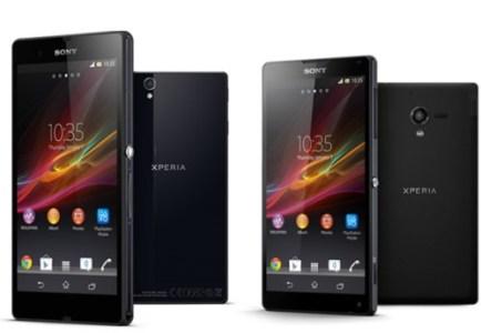 Sony Xperia Z and Xperia ZL