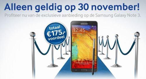 Galaxy Note 3 Netherlands