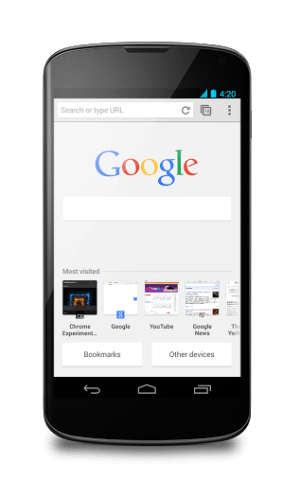 Chrome update brings printing feature to Android