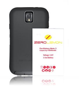 Samsung Galaxy Note 3 Receives Heavy 10,000 mAh of Battery from ZeroLemon