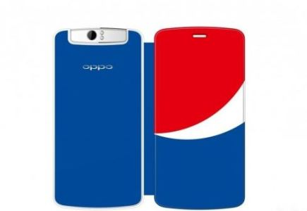 Pepsi Edition Oppo N1 Spotted In China