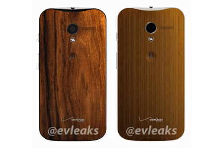 Wood-backed Moto X