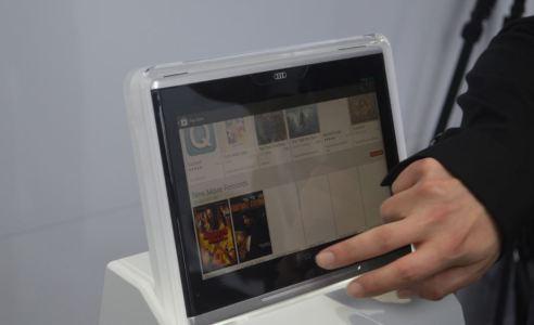 Mobile Smart Display on Audi
