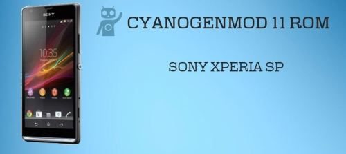 Install CM11 on Sony Xperia SP