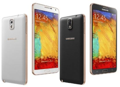 Rose Galaxy Note 3 to Be Launched under Verizon