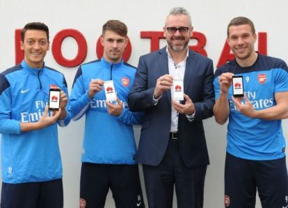 Huawei – The Official Smartphone Partner of Arsenal FC