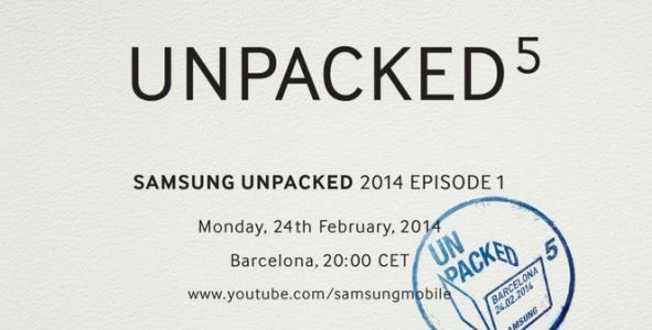Samsung Galaxy S5 To Be Launched on February 24 at Mobile World Congress