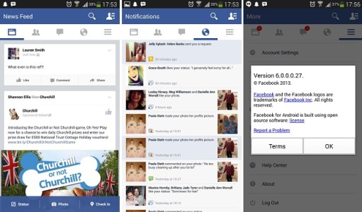 New Photo Features to Android App in Facebook